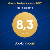 Booking Guest Review Awards 2017 Hotel Delfino